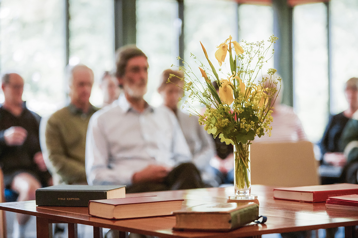 Quaker meeting for worship